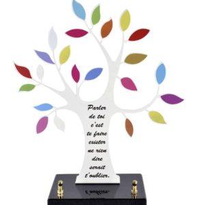"""Pour des obsèques, vous pouvez acheter une plaque funéraire """"olivier, arbre de vie"""" de la marbrerie biterroise Pech Bleu, la boutique à Béziers."""