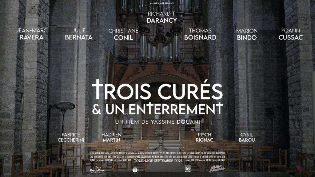 pech bleu partenaire officiel du film 3 curés et un enterrement de yassine Douani