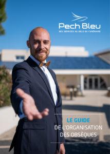 Organiser des obsèques à Béziers et dans l'Hérault, télécharger le guide d'accueil PECHBLEU